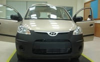 2008 Hyundai Atos, front, exterior