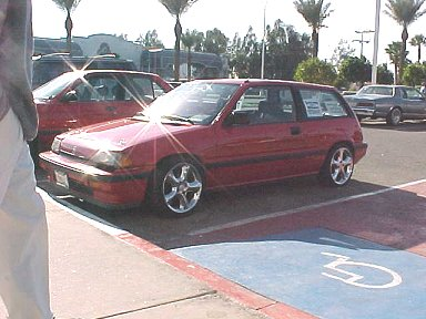 1986 Honda Civic S Hatchback, 1986 Honda Civic Hatchback S picture