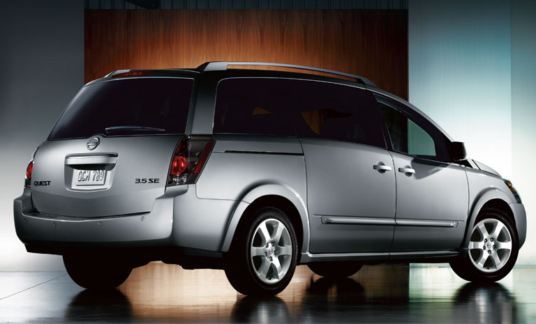 2008 Nissan Quest, side, manufacturer, exterior