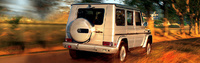 2006 Mercedes-Benz G-Class, back, manufacturer, exterior