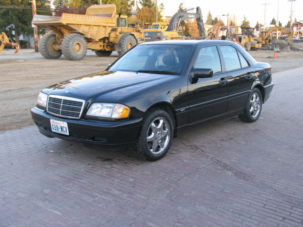 1996 Mercedes-Benz C-Class C280, Picture of 1999 Mercedes-Benz C280 6 Sport Package, exterior