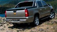2008 Chevrolet Avalanche LTZ 4WD, back view, exterior, manufacturer