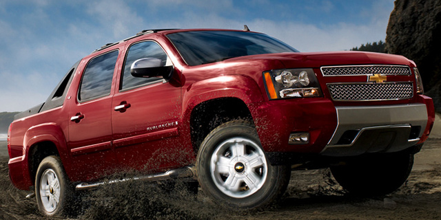 2008 Chevrolet Avalanche, 08 Chevrolet Avalanche, exterior, manufacturer, gallery_worthy