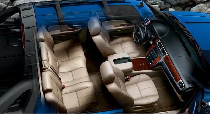2008 Chevy Avalanche Interior