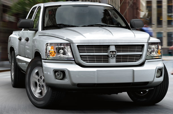 2008 Dodge Dakota, front, exterior, manufacturer