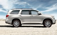 2008 Toyota Sequoia, side view, exterior, manufacturer