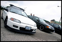 1995 Honda Civic CX Hatchback, First Kitchener Honda-Tech meet