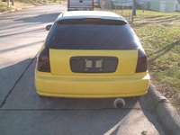 1997 Honda Civic DX Hatchback, 1997 Honda Civic 2 Dr DX Hatchback picture