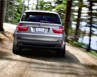 2008 BMW X5, back view, exterior, manufacturer