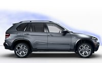 2008 BMW X5, side view, manufacturer, exterior
