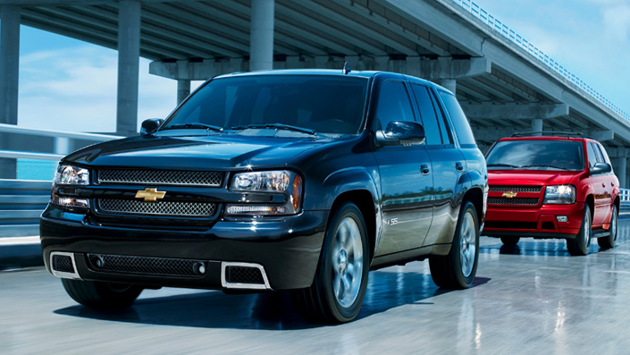 2008 Chevrolet TrailBlazer, 2008 Chevrolet Trailblazer, manufacturer, exterior