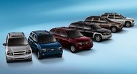 2008 Chevrolet TrailBlazer, car lineup, exterior, manufacturer