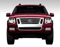 2008 Ford Explorer Sport Trac, front view, exterior, manufacturer