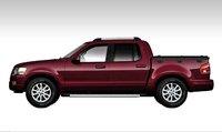 2008 Ford Explorer Sport Trac, side view, exterior, manufacturer