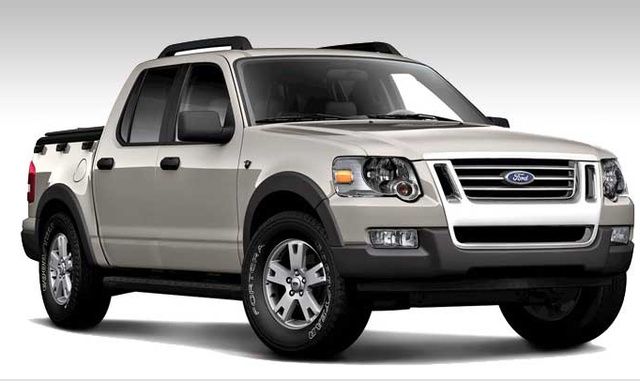 08 Ford Explorer Sport Trac