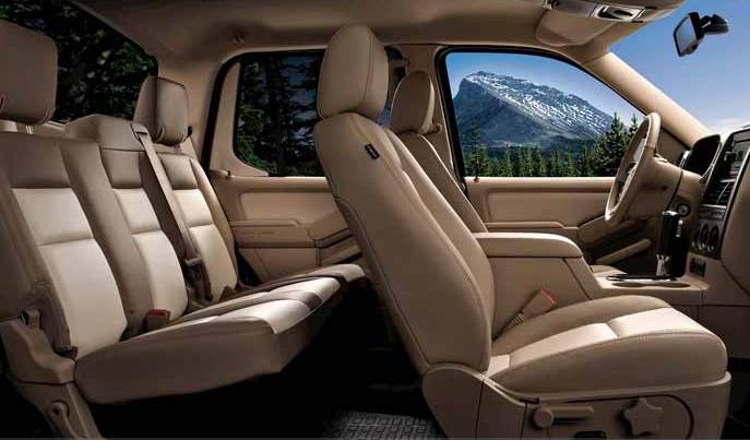 Ford Explorer Sport Trac Interior