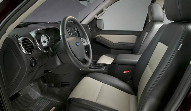 2008 ford explorer sport trac front seats interior manufacturer