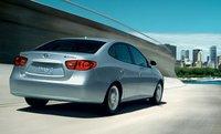 2007 Hyundai Elantra, back view, exterior, manufacturer
