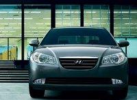 2008 Hyundai Elantra, front view, exterior, manufacturer