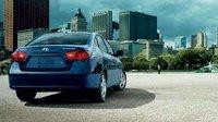 2008 Hyundai Elantra, back view, exterior, manufacturer