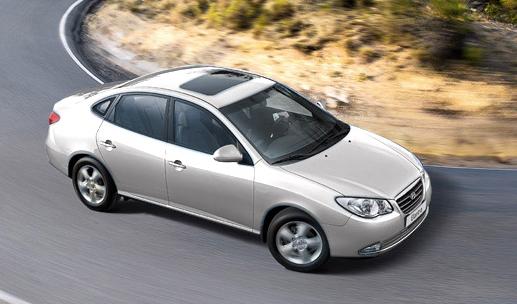The 2008 Hyundai Elantra