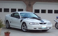 1998 Ford Mustang GT Coupe, 1998 Ford Mustang 2 Dr GT Coupe picture