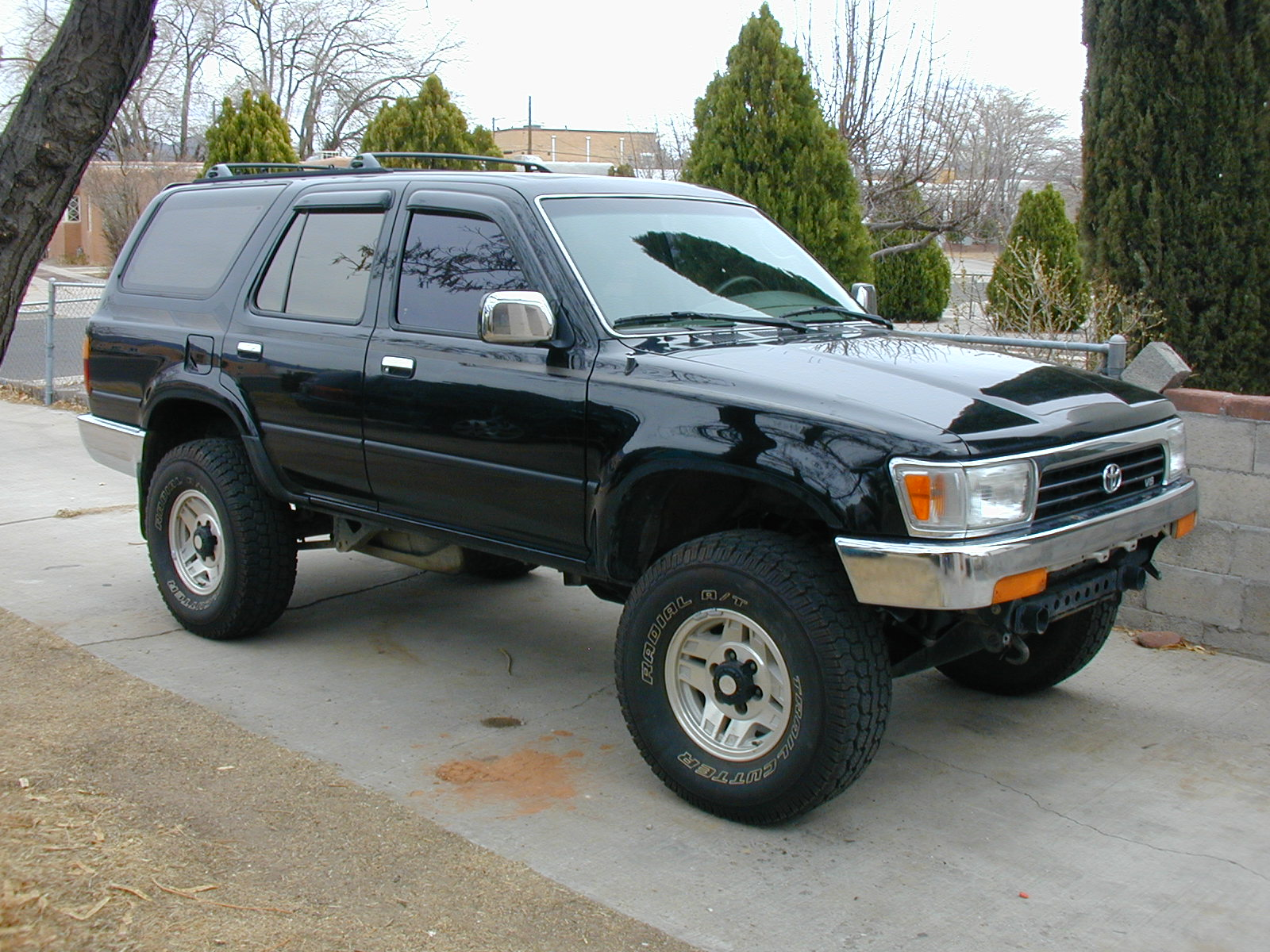 04 Tacoma Lifted >> 1st gen wheels on 2nd gen 4-runner - YotaTech Forums