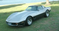 1982 Chevrolet Corvette Base, 1982 Chevrolet Corvette Coupe picture, exterior