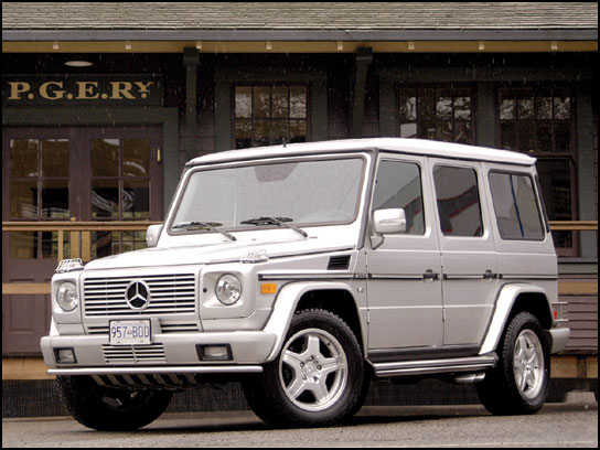 2007 Mercedes-Benz G55 AMG picture