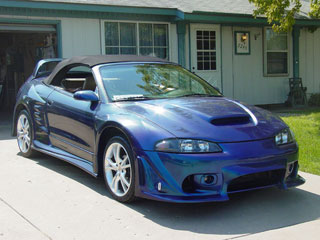 1999 Mitsubishi Eclipse 2 Dr GSX Turbo AWD Hatchback picture