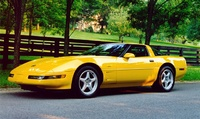 1993 Chevrolet Corvette Coupe, 1993 Chevrolet Corvette 2 Dr STD Hatchback picture, exterior