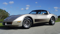 1982 Chevrolet Corvette Base, 1982 CE Coupe , exterior