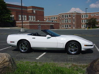 1995 Chevrolet Corvette Convertible, 1995 Chevrolet Corvette 2 Dr STD Convertible picture, exterior
