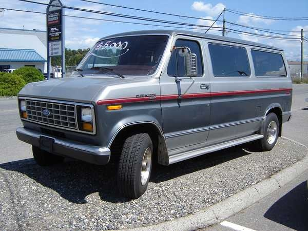 Picture of 1990 Ford E-Series E-350 XLT Club Wagon Passenger Van Extended, gallery_worthy