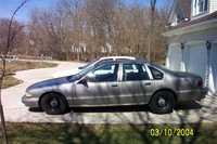 1995 Chevrolet Caprice Base, 1995 Chevrolet Caprice 4 Dr STD Sedan picture