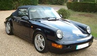 1990 Porsche 911 Carrera Convertible, 1990 Porsche 911 2 Dr Carrera Convertible picture