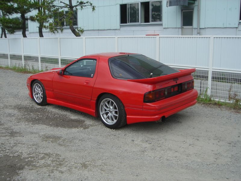 1991 mazda rx7 specs