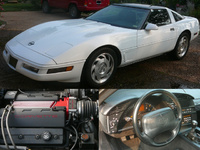 1996 Chevrolet Corvette Coupe, 1996 Chevrolet Corvette 2 Dr STD Hatchback picture