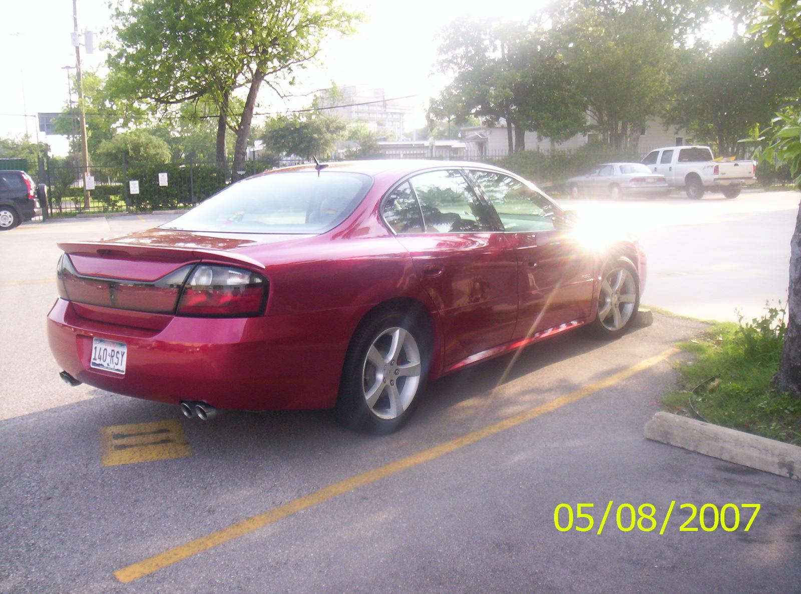 2005 Pontiac Bonneville Gxp Pictures
