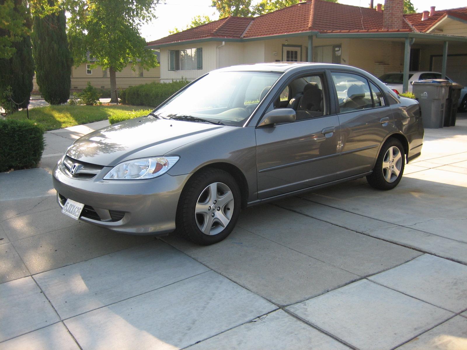 2004 Honda Civic Coupe Car Interior Design