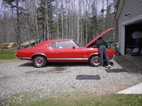 1971 Oldsmobile Cutlass Supreme picture