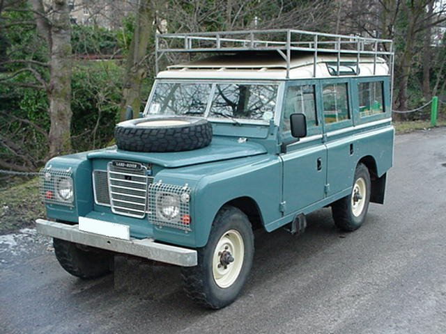 land rover 3 series. 1973 Land Rover Series