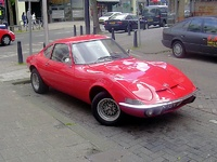 1968 Opel GT Overview