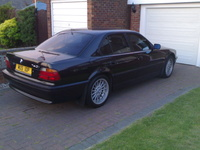 1998 BMW 7 Series 750iL, 1998 BMW 750 750Li picture