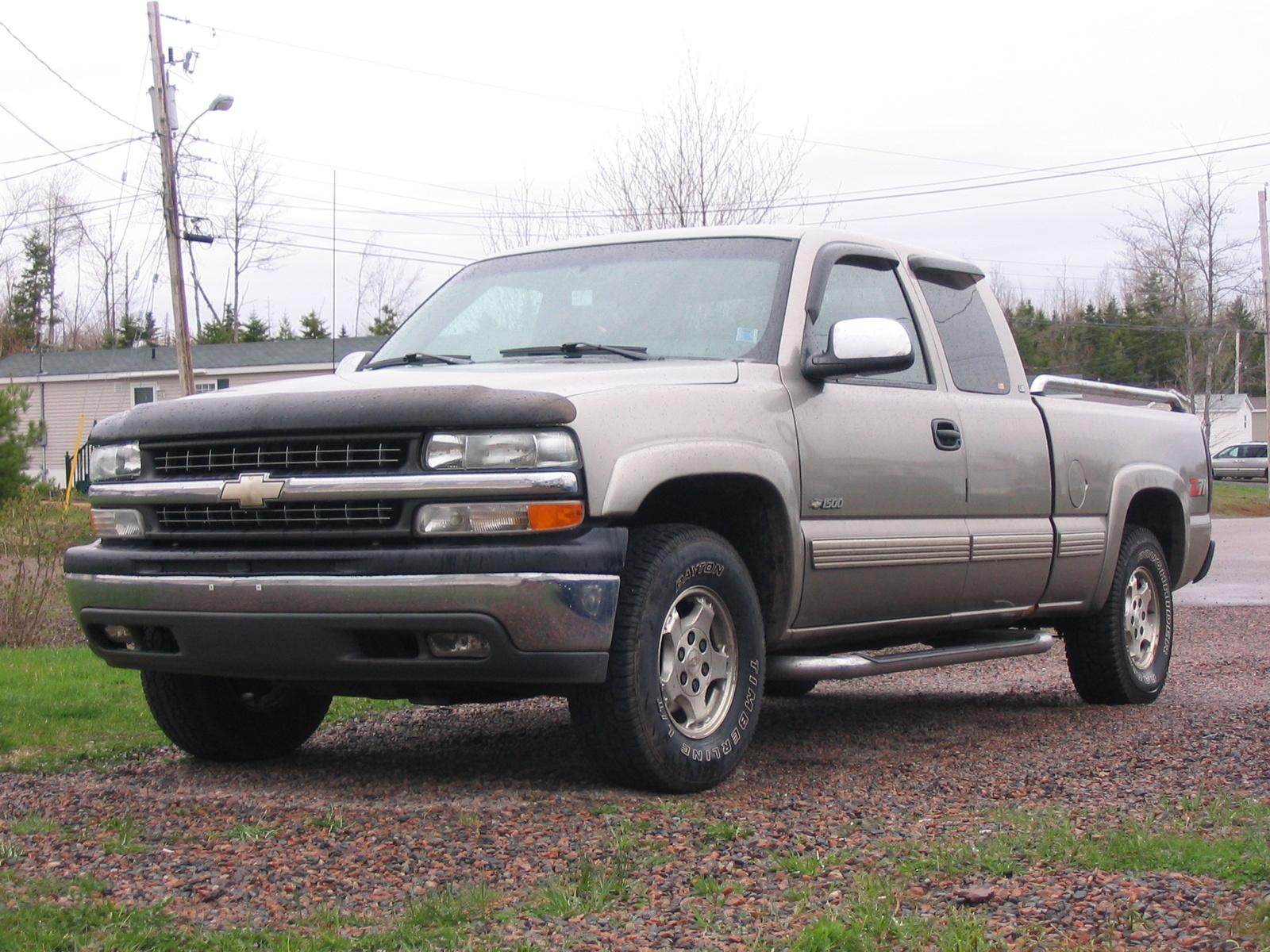 2000 Chevy Silverado Interior