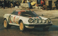 1976 Lancia Beta, 1975 Lancia Stratos (in montecarlo rally)
