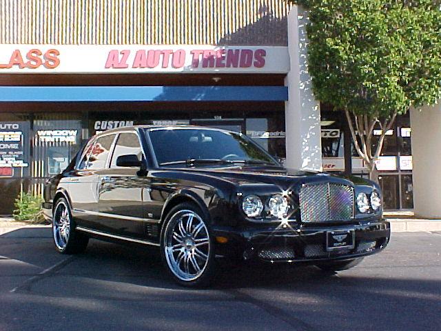 Bentley Azure Coupe. Bentley Arnage T