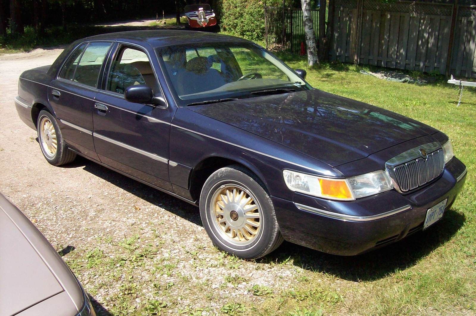 1999 Mercury Grand Marquis 4 Dr LS Sedan picture