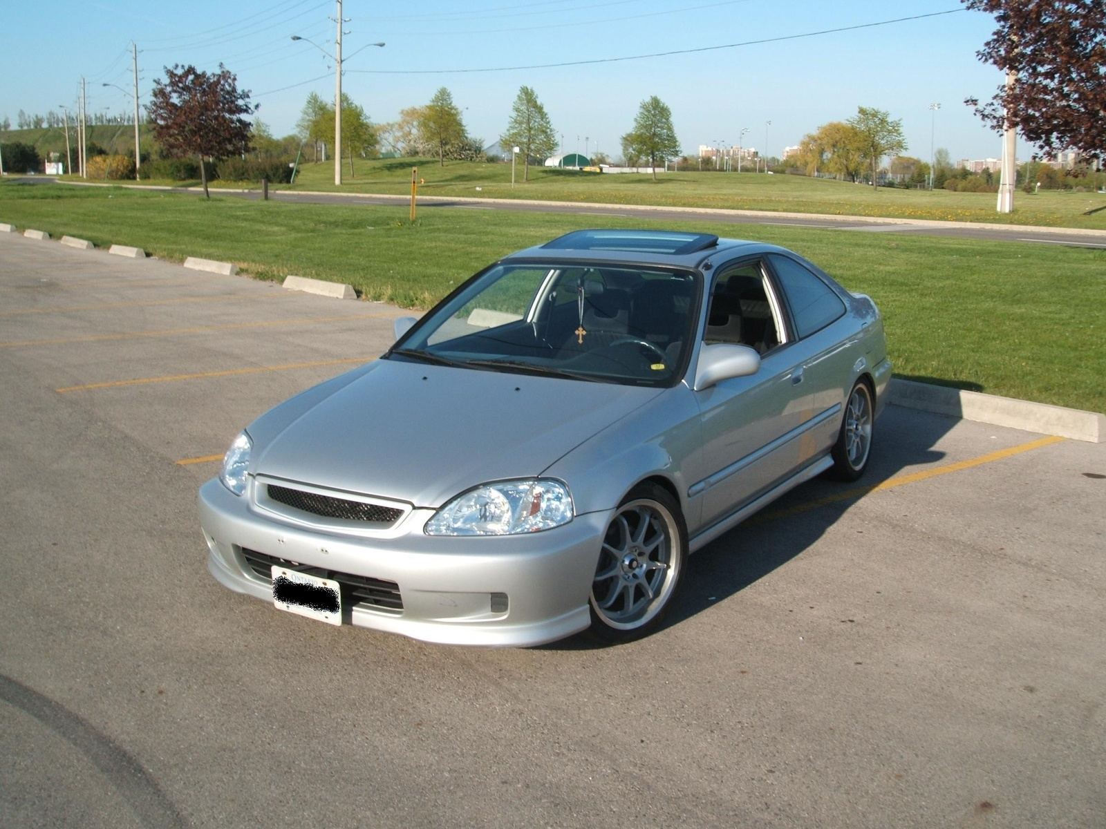 Picture Of 1995 Honda Civic Si Hatchback Exterior