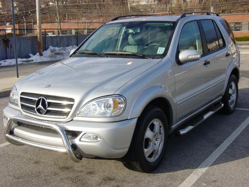 2001 Mercedes-Benz M-Class 4 Dr ML430 AWD SUV, 2001 Mercedes-
